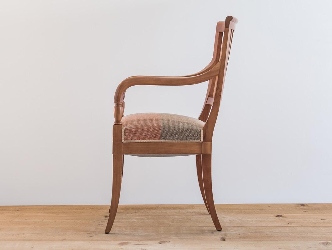 fauteuil classique directoire cerisier par philippe emery philippe emery. Black Bedroom Furniture Sets. Home Design Ideas