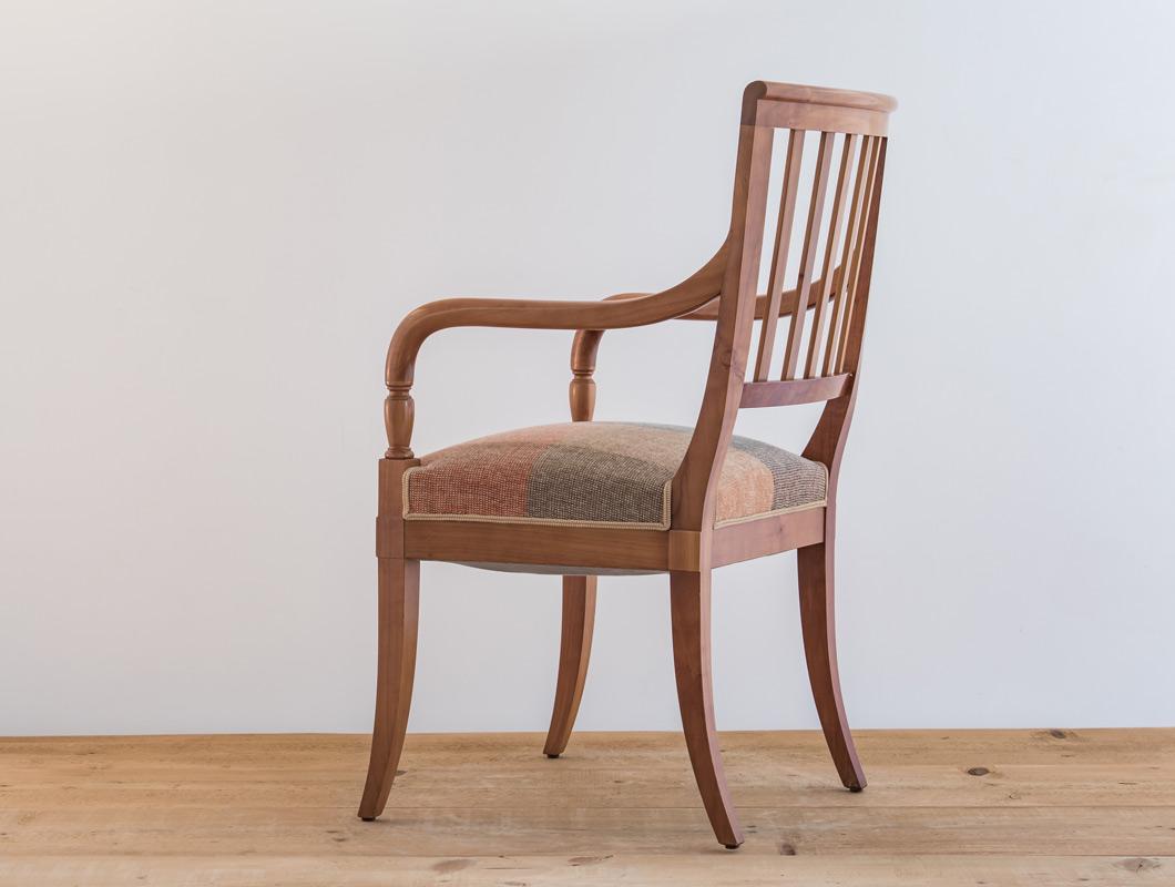 fauteuil classique directoire cerisier 3 philippeemery philippe emery. Black Bedroom Furniture Sets. Home Design Ideas