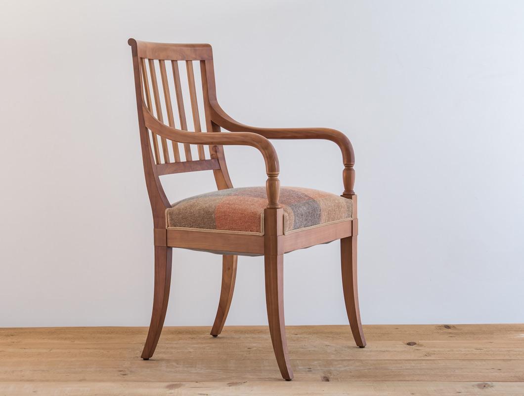 fauteuil classique directoire cerisier 4 philippeemery philippe emery. Black Bedroom Furniture Sets. Home Design Ideas